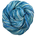 Knitcircus Yarns: Faraway Land 100g Speckled Handpaint skein, Trampoline, ready to ship yarn