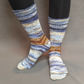 Knitcircus Yarns: Hundred Acre Wood Modernist Matching Socks Set (large), Greatest of Ease, choose your cakes, ready to ship yarn