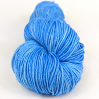 Knitcircus Yarns: Clear Skies Ahead 100g Kettle-Dyed Semi-Solid skein, Trampoline, ready to ship yarn