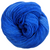 Knitcircus Yarns: Blue Radley 100g Kettle-Dyed Semi-Solid skein, Flying Trapeze, ready to ship yarn