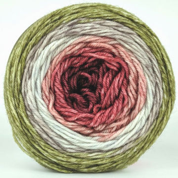 Knitcircus Yarns: Apple of My Pie 100g Panoramic Gradient, Divine, ready to ship yarn