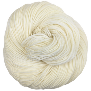 Knitcircus Yarns: Creamy Sheep 50g skein, Greatest of Ease, ready to ship yarn