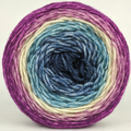 Knitcircus Yarns: Berry Pleased to Meet You 100g Panoramic Gradient, Divine, ready to ship yarn