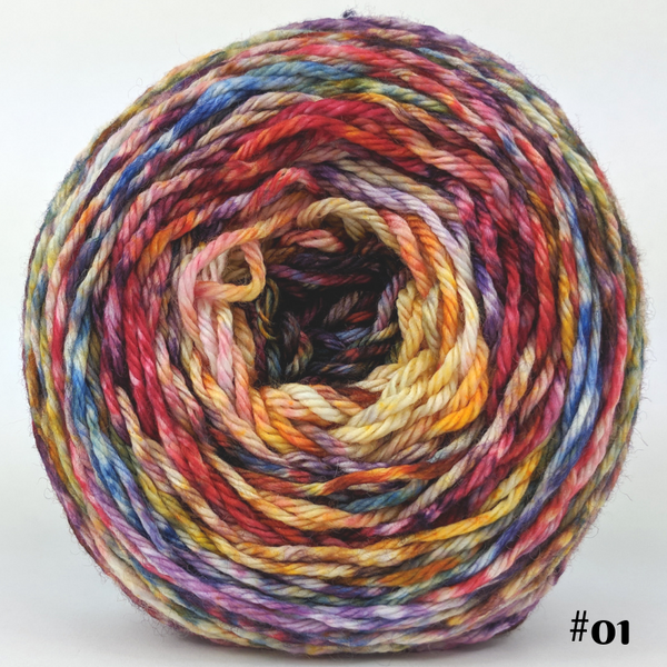 Knitcircus Yarns: Hello Jello 100g Modernist, Ringmaster, choose your cake, ready to ship yarn