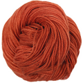 Knitcircus Yarns: Rhymes With Orange 100g Kettle-Dyed Semi-Solid skein, Corriedale, ready to ship yarn - SALE
