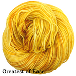 Knitcircus Yarns: Yellow Brick Road Kettle-Dyed Semi-Solid skeins, dyed to order yarn