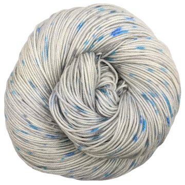 Knitcircus Yarns: Whiskers On Kittens 100g Speckled Handpaint skein, Trampoline, ready to ship yarn - SALE