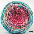 Knitcircus Yarns: Imaginary Best Friend 100g Impressionist Gradient, Breathtaking BFL, choose your cake, ready to ship yarn