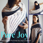 Pure Joy Shawl Kit, ready to ship