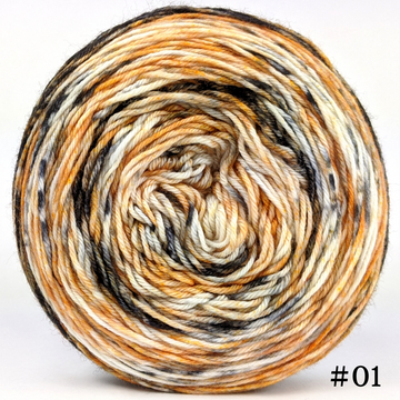 Knitcircus Yarns: Scaredy Cat 100g Modernist, Greatest of Ease, choose your cake, ready to ship yarn