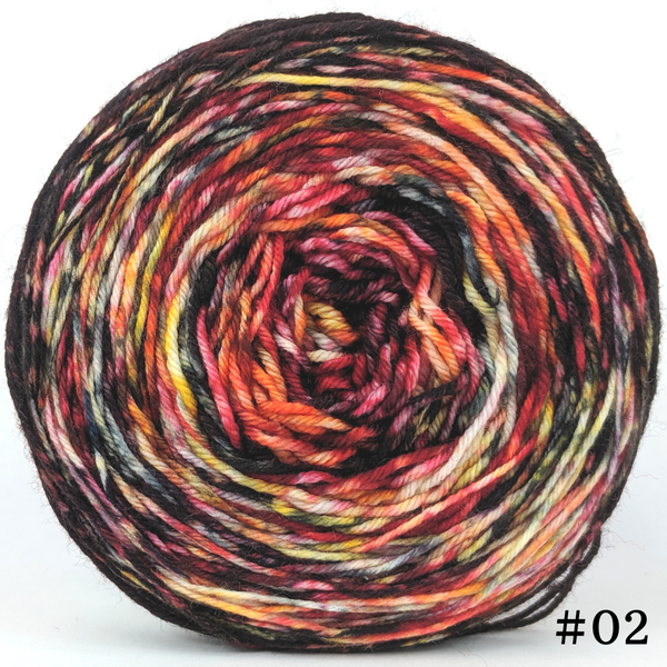 Knitcircus Yarns: Headless Horseman 100g Modernist, Greatest of Ease, choose your cake, ready to ship yarn