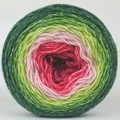 Knitcircus Yarns: Watermelon 100g Panoramic Gradient, Flying Trapeze, ready to ship yarn - SALE