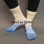 Knitcircus Yarns: Rise and Shine Panoramic Gradient Matching Socks Set, dyed to order yarn