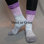 Knitcircus Yarns: Joie de Vivre Panoramic Gradient Matching Socks Set, dyed to order yarn