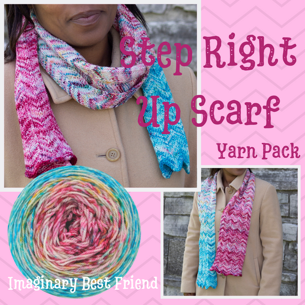Step Right Up Yarn Pack, pattern not included, dyed to order