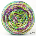 Knitcircus Yarns: Electric Mayhem 100g Modernist, Trampoline, choose your cake, ready to ship yarn