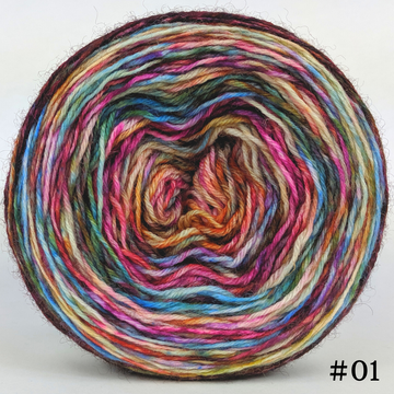 Knitcircus Yarns: Speed of Light 100g Modernist, Breathtaking BFL, choose your cake, ready to ship yarn