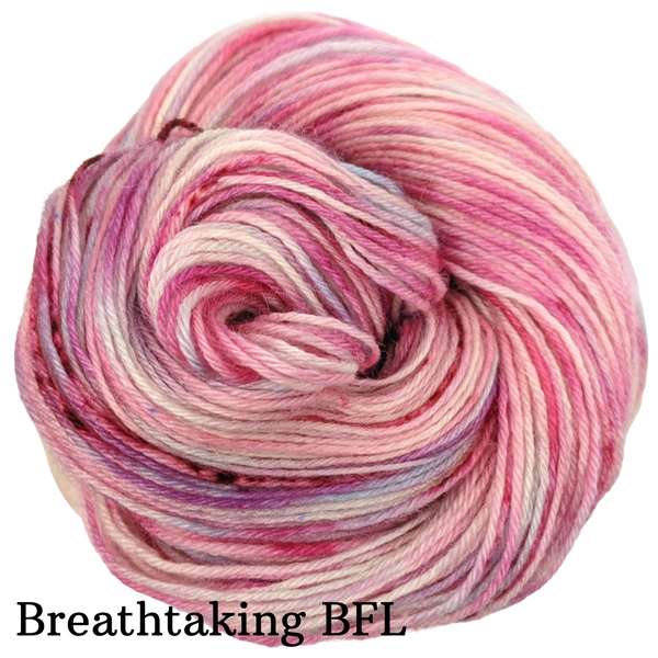 Knitcircus Yarns: Life is a Bowl of Cherries Speckled Handpaint Skeins, dyed to order yarn