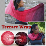 Terrace Wrap Yarn Pack, pattern not included, dyed to order