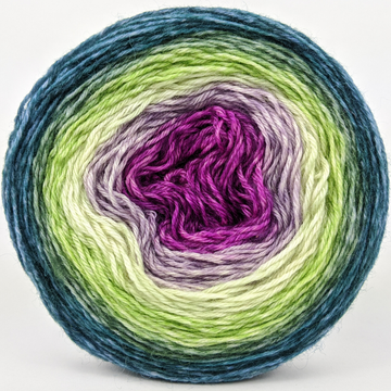 Knitcircus Yarns: Never Enough Knitting 100g Panoramic Gradient, Breathtaking BFL, ready to ship yarn