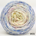 Knitcircus Yarns: Bundle of Joy 100g Impressionist Gradient, Greatest of Ease, choose your cake, ready to ship yarn