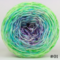 Knitcircus Yarns: Top Scarer 100g Impressionist Gradient, Greatest of Ease, choose your cake, ready to ship yarn