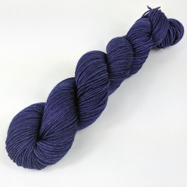 Knitcircus Yarns: Midnight Moon 100g Kettle-Dyed Semi-Solid skein, Divine, ready to ship yarn