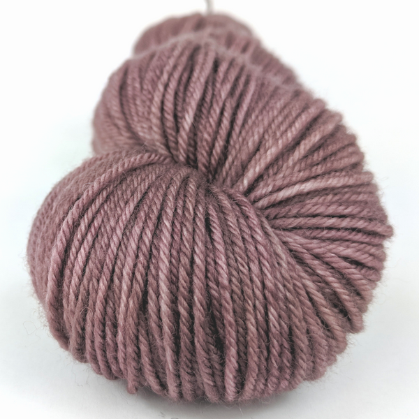 Knitcircus Yarns: Semi-Sweet 100g Kettle-Dyed Semi-Solid skein, Divine, ready to ship yarn
