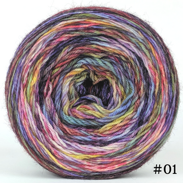 Knitcircus Yarns: Simply Splendid 100g Modernist, Breathtaking BFL, choose your cake, ready to ship yarn