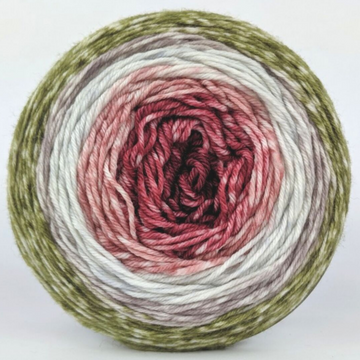 Knitcircus Yarns: Apple of My Pie 100g Panoramic Gradient, Greatest of Ease, ready to ship yarn