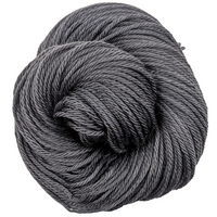 Knitcircus Yarns: Fade to Black 100g Kettle-Dyed Semi-Solid skein, Ringmaster, ready to ship yarn