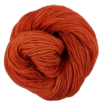 Knitcircus Yarns: Rhymes With Orange 100g Kettle-Dyed Semi-Solid skein, Divine, ready to ship yarn