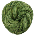 Knitcircus Yarns: Slow and Steady 100g Speckled Handpaint skein, Trampoline, ready to ship yarn