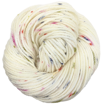 Knitcircus Yarns: Big Top Birthday 100g Speckled Handpaint skein, Ringmaster, ready to ship yarn - SALE