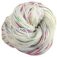 Knitcircus Yarns: Tis the Season 100g Speckled Handpaint skein, Opulence, ready to ship yarn