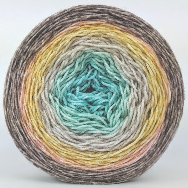 Knitcircus Yarns: Home on the Range 150g Panoramic Gradient, Greatest of Ease, ready to ship yarn