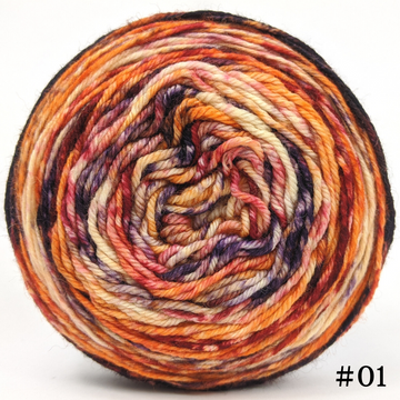 Knitcircus Yarns: En Fuego 100g Modernist, Divine, choose your cake, ready to ship yarn