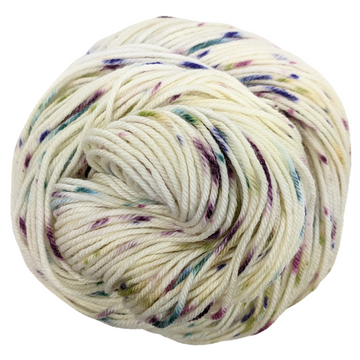 Knitcircus Yarns: Just Beet It 100g Speckled Handpaint skein, Divine, ready to ship yarn