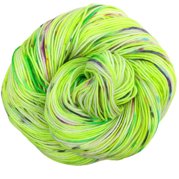 Knitcircus Yarns: High Voltage 100g Speckled Handpaint skein, Greatest of Ease, ready to ship yarn