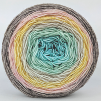 Knitcircus Yarns: Home on the Range 100g Panoramic Gradient, Trampoline, ready to ship yarn