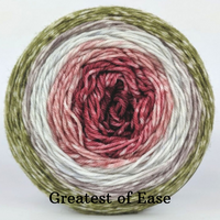 Knitcircus Yarns: Apple of My Pie Panoramic Gradient, dyed to order yarn