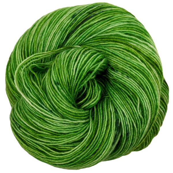 Knitcircus Yarns: Lucky Charm 100g Speckled Handpaint skein, Spectacular, ready to ship yarn