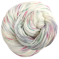 Knitcircus Yarns: Tis the Season 100g Speckled Handpaint skein, Parasol, ready to ship yarn