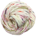 Knitcircus Yarns: Big Top Birthday 100g Speckled Handpaint skein, Trampoline, ready to ship yarn