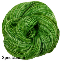 Knitcircus Yarns: Lucky Charm Speckled Handpaint Skeins, dyed to order yarn