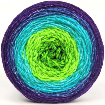 Knitcircus Yarns: Monstropolis 150g Panoramic Gradient, Flying Trapeze, ready to ship yarn