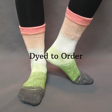 Knitcircus Yarns: On a Roll Panoramic Gradient Matching Socks Set, dyed to order yarn