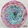 Knitcircus Yarns: Knit Your Best Life 100g Impressionist Gradient, Greatest of Ease, choose your cake, ready to ship yarn
