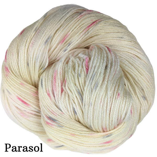 Knitcircus Yarns: Come What May Speckled Handpaint Skeins, dyed to order yarn