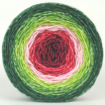 Knitcircus Yarns: Watermelon 150g Panoramic Gradient, Greatest of Ease, ready to ship yarn